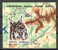 #3307 Romania - Retezat Natl. Park, 50th Anniv. S/S (MNH)