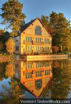 timber lake house
