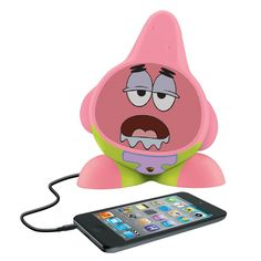 Nickelodeon Patrick Rechargeable Speaker for MP3 Players