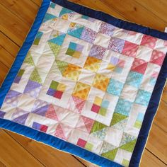 baby / toddler quilt - gender neutral quilt by Sheynale