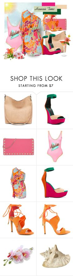 """Hawaii Time"" by sheila1914 ❤ liked on Polyvore featuring Balmain, Valentino, Topshop, Uttam Boutique, Privileged, Summer, ResortFashion and hawaiistyle"