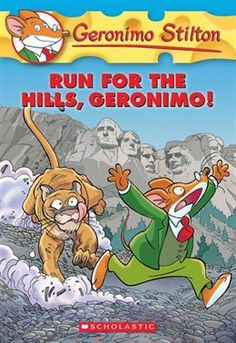 """Read """"Geronimo Stilton Run for the Hills, Geronimo!"""" by Geronimo Stilton available from Rakuten Kobo. More than 18 million Geronimo Stilton books in print! Finally, I was about to leave for a relaxing vacation all by mysel. Geronimo Stilton, New Kids Toys, Kids Book Series, Short Stories For Kids, Air Balloon Rides, Cool Books, Chapter Books, History Facts, Book Lists"""