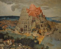 The Athenaeum - The Tower of Babel (Pieter Brueghel the Younger - )