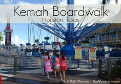 Kemah Boardwalk - Houston, Texas | The Momiverse | Article by Patti Morrow | Named one of five family-friendly attractions in Houston, TX #Houston, #travel
