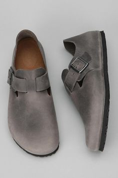 Birkenstock Oiled-Leather London Shoe Online Only. these, jeans and a sweater...