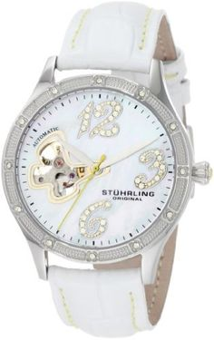Stuhrling Original Women's 196SW.1115P7 Vogue Audrey Freedom Automatic Skeleton Swarovski Mother-Of-Pearl White Watch, http://www.amazon.com/dp/B0049DXZLK/ref=cm_sw_r_pi_awdm_9w4ntb1H0KA56