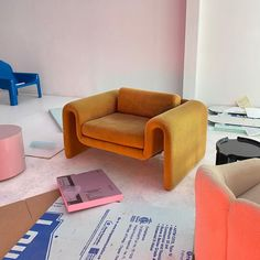 Diy Interior, Apartment Interior, Room Interior, Interior Architecture, Interior And Exterior, Interior Design, Sofa Design, Furniture Design, Casamance