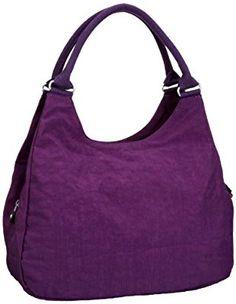 Kipling BAGSATIONAL K1529563C, Damen Henkeltasche, Violett (Brilliant Purpl), 39x34x16 cm (B x H x T)