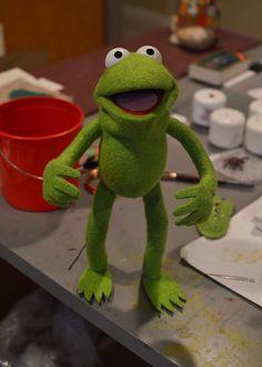 Robin (Kermit's Nephew) Photo Puppet Build!