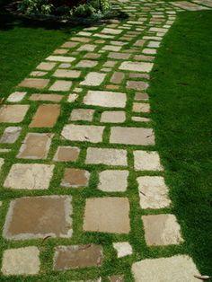 IDEAS: paving contemporary landscape