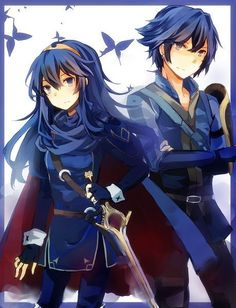 Fire Emblem Awakening - Lucina and Inigo