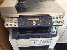 Konica Minolta printer/fax/scanner/copier-perfect working condition plus boxes of toner