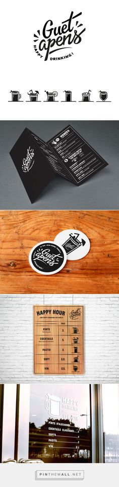 LE GUET-APENS BAR on Behance - created via http://pinthemall.net