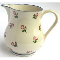 Brixton Pottery Scattered Rose Jug - £21.99