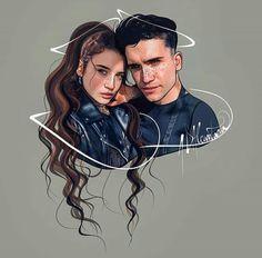 Jaime y Maria Tv Show Couples, Cute Couples, Netflix Series, Series Movies, Cillian Murphy Peaky Blinders, Elite Squad, Bullet Journal Banner, Digital Art Girl, Video Film