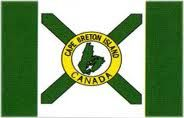 Official flag of Cape Breton Island