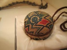 Bargello pin ball. I'm going to make one I think.