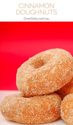 Homemade Cinnamon Doughnuts Recipe - these do-it-yourself doughnuts are much yummier than anything you can buy.