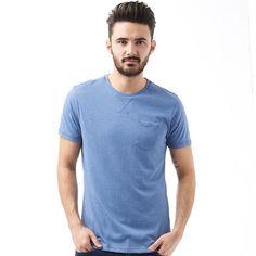 Brave Soul Mens Arkham T-Shirt Light Vintage Brave Soul short sleeve soft jersey plain tee. http://www.MightGet.com/february-2017-2/brave-soul-mens-arkham-t-shirt-light-vintage.asp