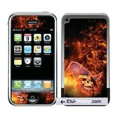 Feter #halloween avec le #sticker Death pour #iPhone 3 sur www.etui-iphone.com