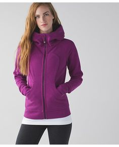 Scuba Hoodie III - Size 2 (runs bigger than II)- This magenta is pretty