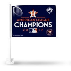 Rico Astros AL League Champs Car Flag (Navy, Size ) - Pro Licensed Product, Pro License Cap/Novelty Events at Academy Sports