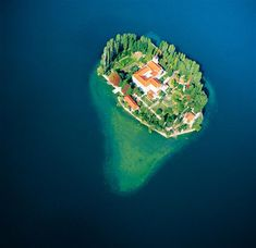 Visovac is a tiny island in the river Krka, in the Krka National park. Set like a precious stone in the middle of the lake widening it has a monastery Within which is a picture gallery and a church, origins of which are traced back to the 14th century.