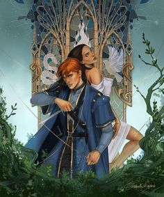 Lou and Reid, Serpent and Dove Character Inspiration, Character Art, Fantasy Inspiration, Character Ideas, A Darker Shade Of Magic, Fanart, Ya Books, Book Nerd, Book Worms