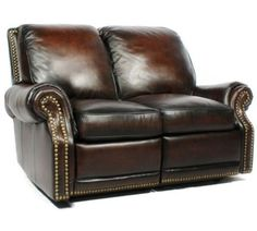 Barcalounger Premier II Leather Reclining Loveseat