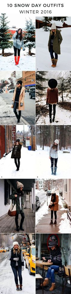 snowday outfits snow day outfits winter outfits winter outfit ideas snow day outfit ideas outfits for snow cold weather outfits winter style winter fashion trends heavy coats oversized sweaters hunter boots layered outfits cute hats winter hats beanies via Advicefroma20Something.com Advice from a Twenty Something waysify