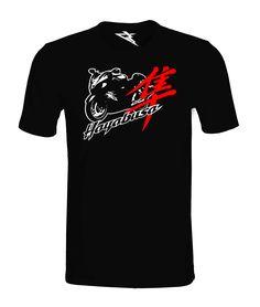 T-Shirt HAYABUSA BLACK – Koszulka damska i męska, wykonana ze 100% wysokogatunkowej bawełny czesanej z nadrukiem w technologii termotransferowej.