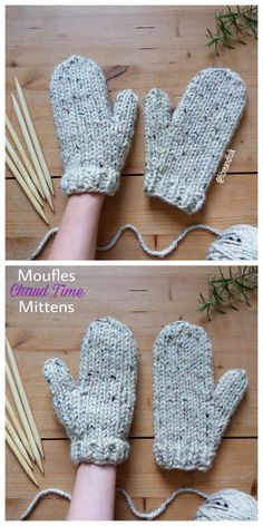 Knitted Mittens Pattern, Knit Mittens, Knitting Patterns Free, Free Knitting, Lion Brand Yarn, Knitting Accessories, Blog, Knit Crochet, Mittens