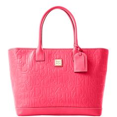 """""""Dooney & Bourke: DB Retro Embossed Leather Medium Russel Bag"""" - Yep, I'm in love! Would love this in either pink or black :)"""