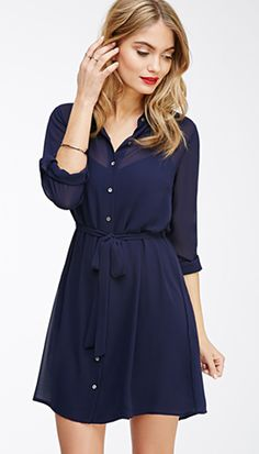 15 Shirt Dresses That Are Work-Appropriate-Approved For A Slightly More Conservative Dress Code