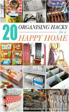 A house full of sunshine: 20 organising hacks for a happy home! (and a magazine feature!)