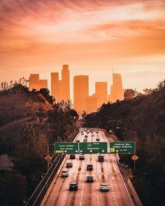 Los Angeles California by Killa Kristennn   California Feelings