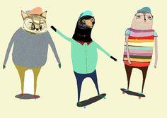 Ashley Percival, from Illustration Friday blog