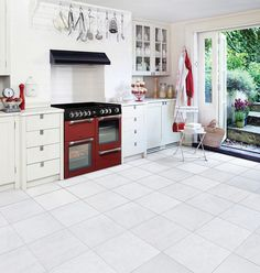 Leisure cookmaster Electric range cooker kitchen lifestyle red CK100C210R 100cm