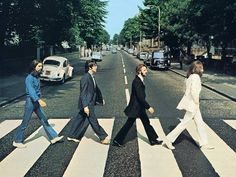 Cross the zebra crossing where this iconic Beatles photograph was captured.