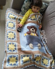 Free Crochet Baby Blanket Patterns for Beginners 2019 - Crochet patterns for beginners free baby blankets Boy Crochet Patterns, Crochet Baby Blanket Free Pattern, Crochet Baby Blanket Beginner, Crochet Patterns For Beginners, Baby Knitting, Free Crochet, Free Knitting, Crochet Afghans, Crochet Boy Blankets