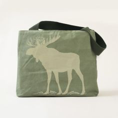 Big Moose Cnavs Tote Bag - good gifts special unique customize style