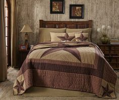 Look how pretty the Landon Twin Quilt – Primitive Star Quilt Shop is. The star will make a statement in your primitive bedroom. This bedding comes in various sizes and coordinates with our Burlap Natural accessories. https://www.primitivestarquiltshop.com/collections/landon-bedding/products/landon-twin-quilt