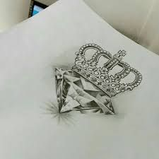 Image result for jewel and crown tattoo