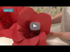 How To Make...Paper Flower Decorations - Learn how to make beautiful paper flower decorations. Follow our simple step by step instructions to create handmade decorations suitable for any occasion.