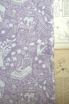 LINNET linen print
