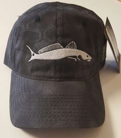 6d3542c9b56 Kryptek Typhoon Black Hat with Redfish