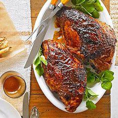 BBQ Spice-Rubbed Turkey Breast