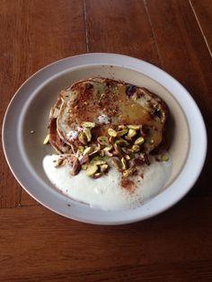 Jamie Oliver smoothie pancakes