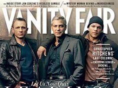 Daniel Craig, George Clooney and Matt Damon were recognized as Hollywood's leading men. Starring in The Descendants, The Girl with the Dragon Tattoo, and We Bought A Zoo, the trio modeled for Vanity Fair.