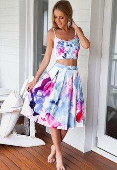 Skirts Dutiful New Just Me Womans Midi Skirt Navy Size 28-30